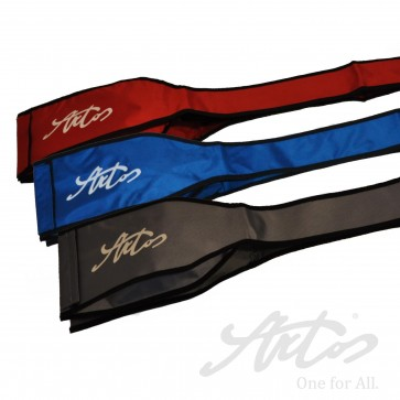 WEAPONS BAG COLOURED IN RED, BLUE, GRAY